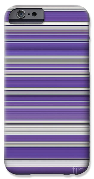 Spectrum iPhone Cases - Violet iPhone Case by Tim Gainey