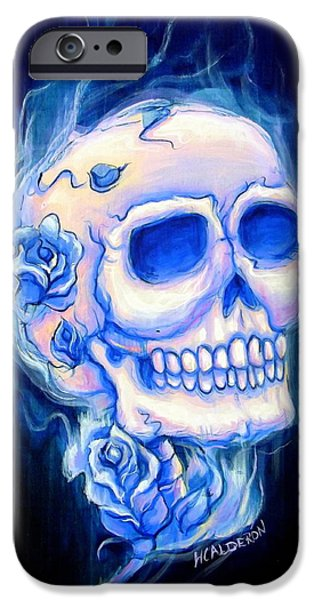 Violeta iPhone Case by Heather Calderon