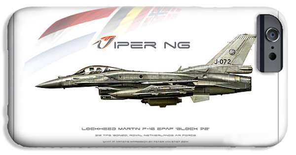 Weapon iPhone Cases - Viper NG iPhone Case by Peter Van Stigt
