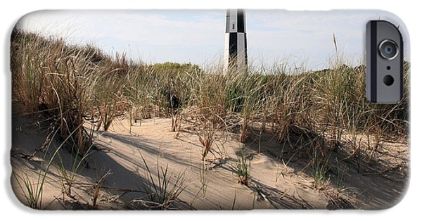Virginia Photographs iPhone Cases - Virginia Beach and the New Cape Henry Lighthouse iPhone Case by JC Findley