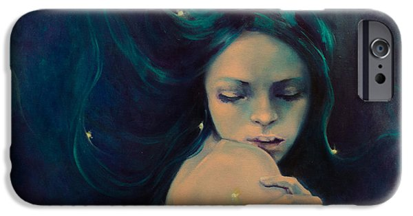 Astral iPhone Cases - Virgo iPhone Case by Dorina  Costras
