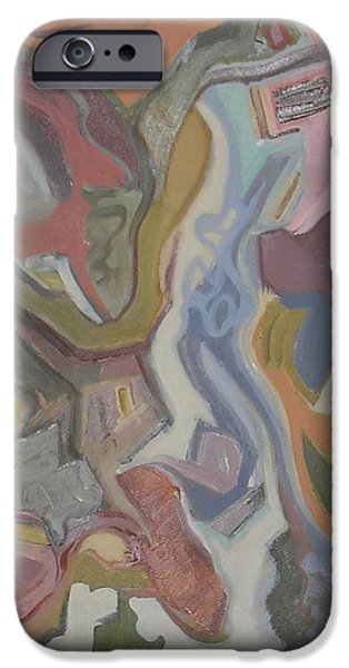 Abstract Expressionist iPhone Cases - Visual Jazz #20 iPhone Case by Philip Rader