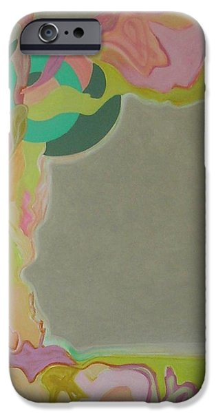 Abstractions iPhone Cases - Visual Jazz #3 iPhone Case by Philip Rader