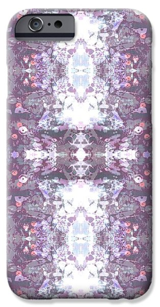 Kaleidoscope iPhone Cases - Vito iPhone Case by Beth Travers