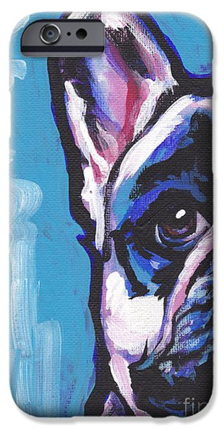 French Bulldog iPhone Cases - Viva La Frenchie  iPhone Case by Lea