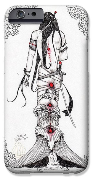 Fantasy Jewelry iPhone Cases - Vlasta iPhone Case by Drew O