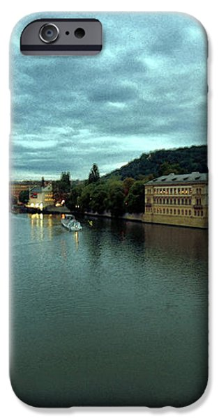 Vltava View 2 iPhone Case by Madeline Ellis