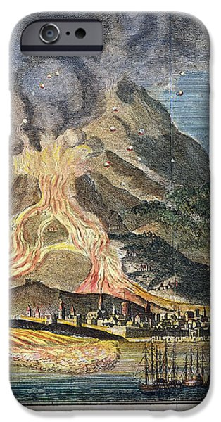 VOLCANO: MT. ETNA iPhone Case by Granger