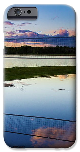 Volleyball Sunset iPhone Case by James BO  Insogna
