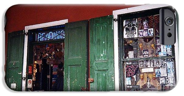 Voodoo Shop iPhone Cases - Voodoo Shop iPhone Case by Bob Bennett