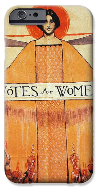 VOTES FOR WOMEN, 1911 iPhone Case by Granger