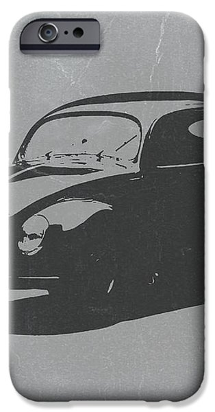 VW Beetle iPhone Case by Naxart Studio