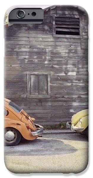 VW's in Skagway Alaska iPhone Case by Bruce Stanfield