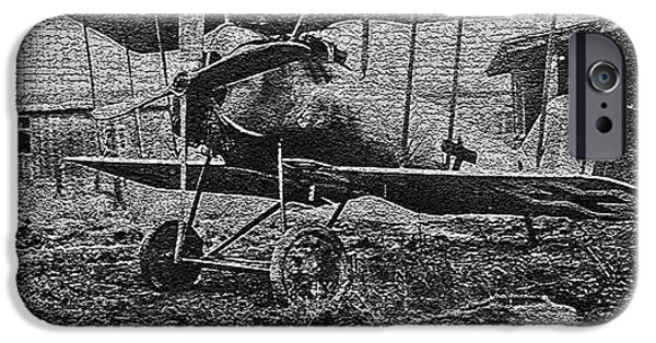 Wwi iPhone Cases - W W I Airplane iPhone Case by Steven Parker
