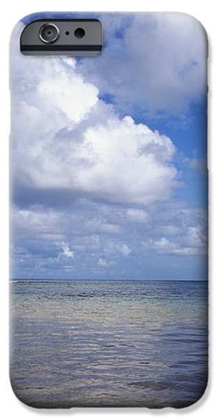 Wading to Outrigger iPhone Case by Joss - Printscapes
