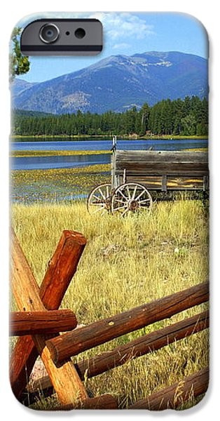 Wagon West iPhone Case by Marty Koch