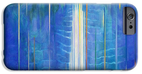 Art Medium iPhone Cases - Waimoku Falls iPhone Case by Fay Biegun - Printscapes