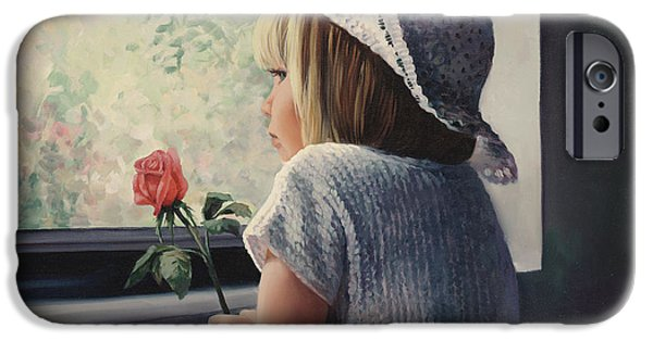 Recently Sold -  - Missing Child iPhone Cases - Waiting For Daddy iPhone Case by Laurie Hein