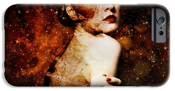 Model iPhone Cases - Waiting I iPhone Case by Andrei Tallent