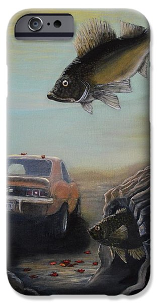 Fall iPhone Cases - Walleye Fall 3 iPhone Case by Kimberly Benedict