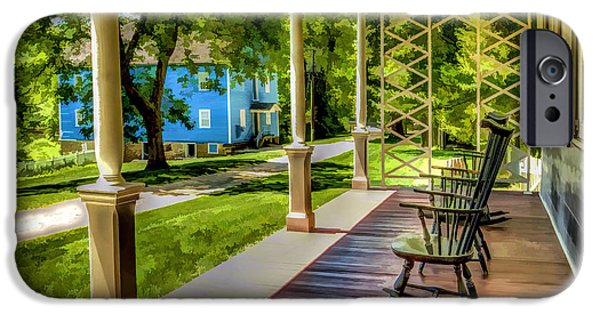 Grist Mill iPhone Cases - Walnford Farm Historic Site iPhone Case by Geraldine Scull