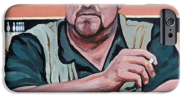 Dude Art iPhone Cases - Walter Sobchak iPhone Case by Tom Roderick