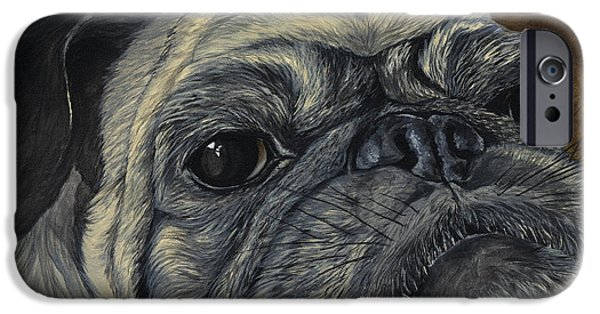 Advocacy iPhone Cases - Walter iPhone Case by Twyla Francois
