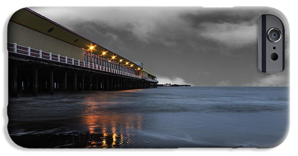 North Sea Photographs iPhone Cases - Walton Pier iPhone Case by Martin Newman