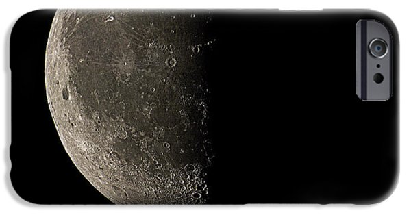 23 iPhone Cases - Waning Half Moon iPhone Case by Eckhard Slawik