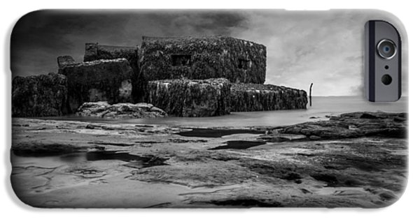 North Sea Photographs iPhone Cases - War Bunker iPhone Case by Martin Newman