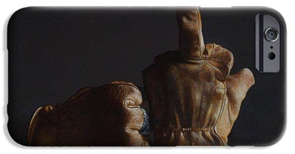 War iPhone Cases - War iPhone Case by Larry Preston