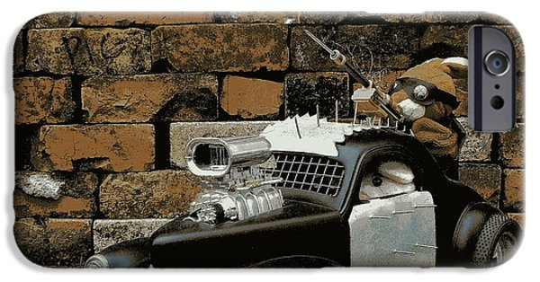 Fury iPhone Cases - Warboys iPhone Case by Piggy