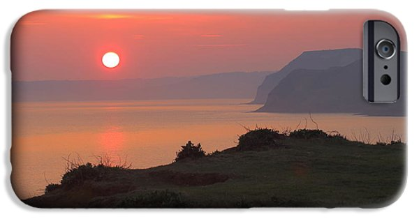 United iPhone Cases - Warm Sunset iPhone Case by Rumyana Whitcher