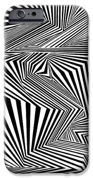 Virtual iPhone Cases - Warpereal iPhone Case by Douglas Christian Larsen