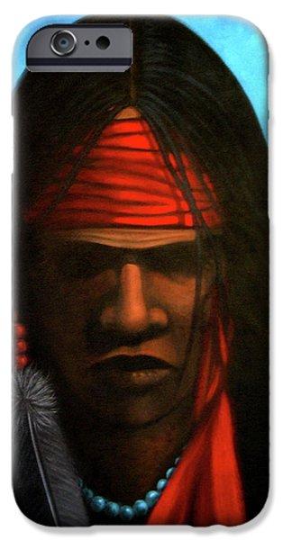 Warrior iPhone Case by Lance Headlee