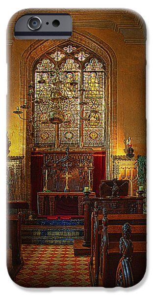 Warwick Castle Chapel iPhone Case by Chris Lord