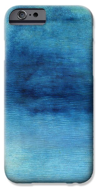 Corporate Art iPhone Cases - Wash Away- Abstract Art by Linda Woods iPhone Case by Linda Woods