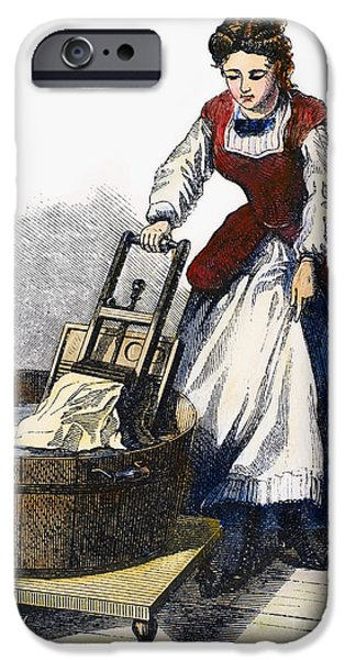 1870 iPhone Cases - Washboard, 1870 iPhone Case by Granger