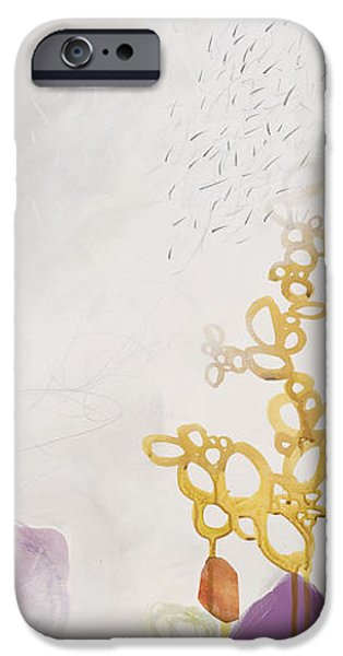 Abstracts iPhone Cases - Washed Up # 6 iPhone Case by Jane Davies