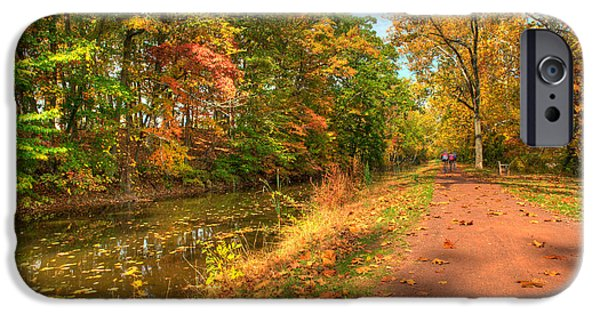 Bucks County iPhone Cases - Washington Crossing Park iPhone Case by William Jobes