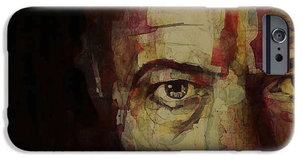 Bowie iPhone Cases - Watch That Man Bowie iPhone Case by Paul Lovering
