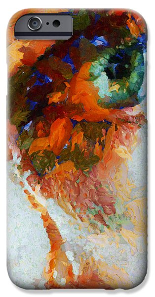 D.c. iPhone Cases - Watching Him Die - Painting  iPhone Case by Sir Josef  Putsche
