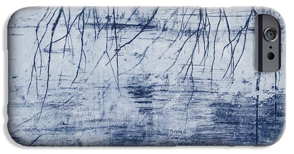 Willow Lake iPhone Cases - Water   Benmore iPhone Case by Calum McClure