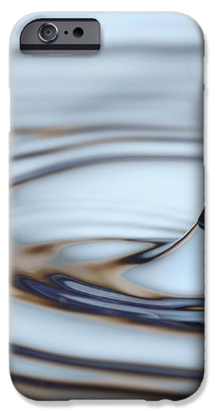 Water drop splash iPhone Case by Frank Tschakert
