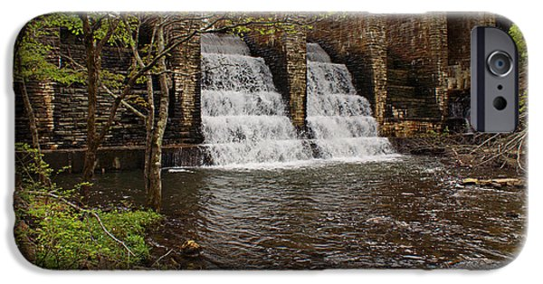 Spring Scenery iPhone Cases - Water Flowing iPhone Case by Sandy Keeton