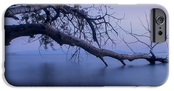 Autumn iPhone Cases - Water Nature iPhone Case by Giorgos Karampotakis