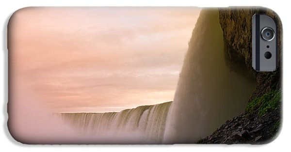 Niagara Falls iPhone Cases - Water iPhone Case by Sebastian Musial