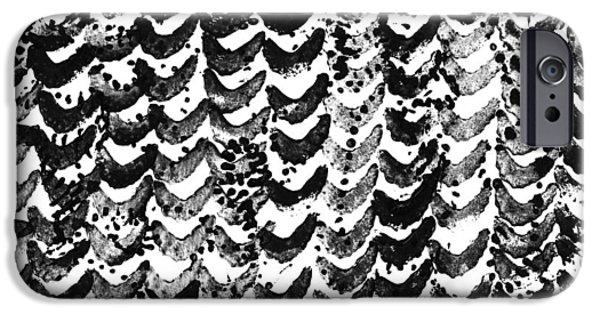 Irregular iPhone Cases - Watercolor Texture Of Irregular iPhone Case by Gillham Studios