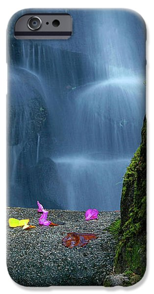 Waterfall02 iPhone Case by Carlos Caetano