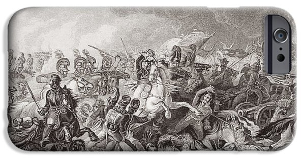 Nineteenth iPhone Cases - Waterloo. The Decisive Charge Of The iPhone Case by Ken Welsh